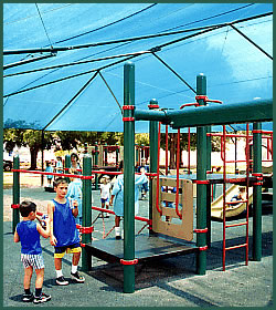 Shade provided in playground in PA